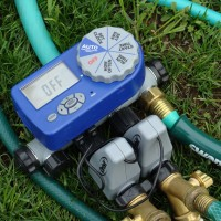Orbit Sprinkler Timer w/Two Valves