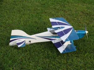 Electrifly Reactor Biplane Side View